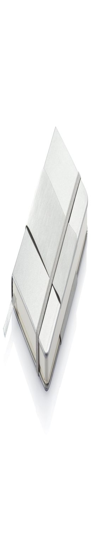 Блокнот в твердой обложке формата A6, серебряный фото