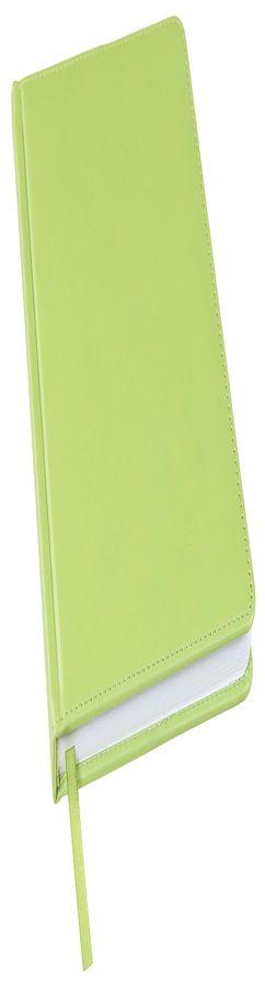 Ежедневник недатированный Bliss, А5,  зеленое яблоко, белый блок, без обреза фото