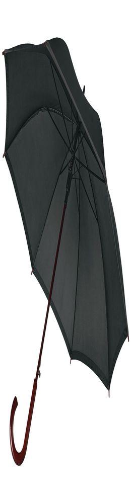Зонт-трость Unit Reflect, черный фото