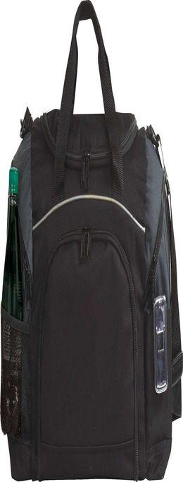 Спортивная сумка Atchison Essential, черная с серым фото