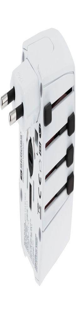 Зарядное устройство S-Kross MUV USB для путешествий, белое фото