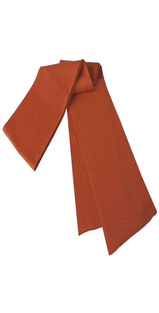 Шарф Strong, темно-оранжевый фото
