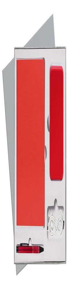 Подарочный набор Portobello/Rain красный (Ежедневник недат А5, Ручка, Power Bank) фото