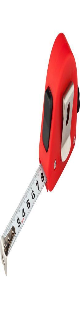 Рулетка строительная 3 метра Alfa, красная фото