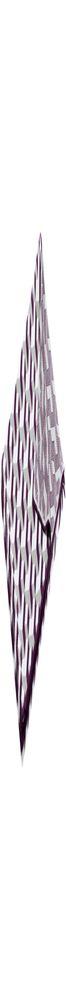 Плед Steps, баклажаново-белый фото