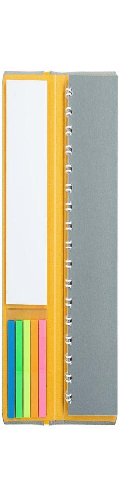 Блокнот Freestick, серый фото