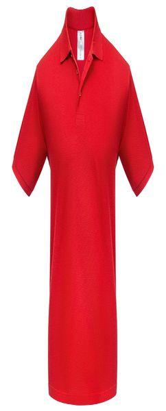 Рубашка поло Heavymill красная фото