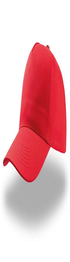 """Бейсболка """"START FIVE"""",   застежка на липучке; красный; 100% хлопок; твил, плотность 160 г/м фото"""