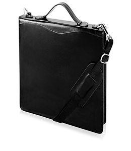 Папка-портфель, черный  фото