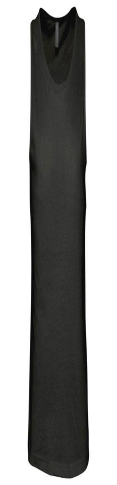 Майка мужская JUSTIN 150, черная фото
