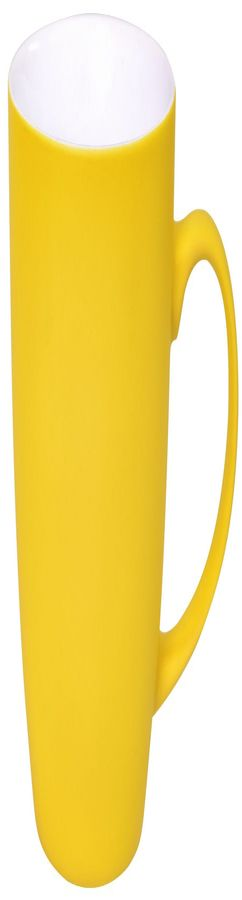 Кружка Sweet с прорезиненным покрытием, желтый, 350 мл фото