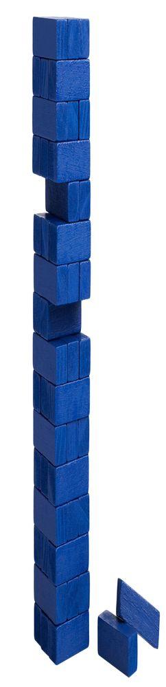 Игра «Деревянная башня мини», синяя фото