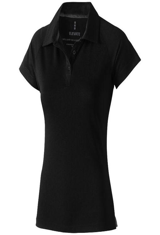"""Рубашка-поло """"Ottawa"""" женская, черный фото"""