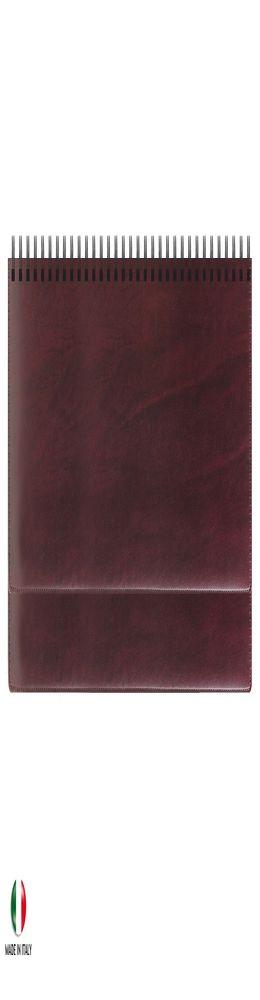 Недатированный планинг REINA 5492 (794U) 298х140 мм ,бургунди золоченый срез, крем. блок, в коробке (ITALY), календарь до 2019 г. фото