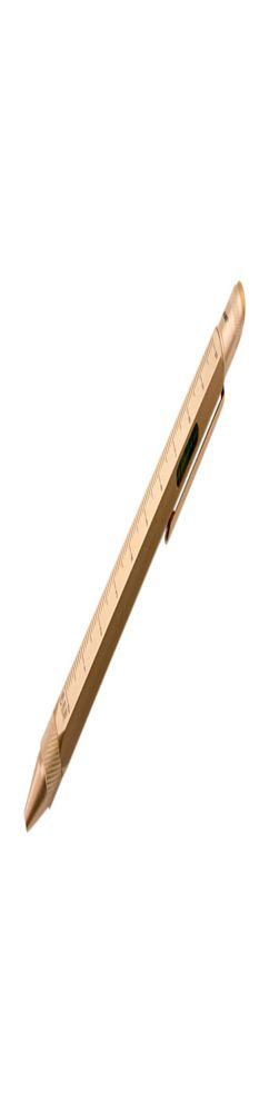 Ручка шариковая Construction, мультиинструмент, золотистая фото