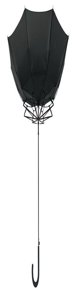 Зонт-трость Unit Wind, черный фото