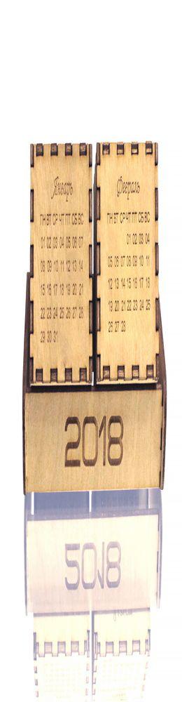 Настольный календарь DS030 фанера фото
