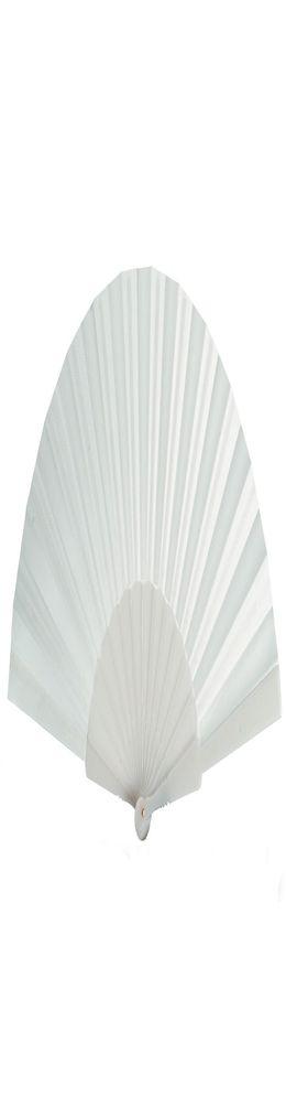 Складной веер «Фан-фан», белый фото