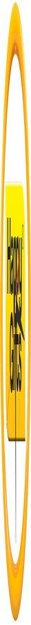 """Часы настенные """"PRINT"""" разборные ;  желтый, D24,5 см; пластик/стекло"""