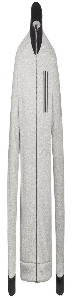 Куртка тренировочная мужская SID TT, серый меланж фото