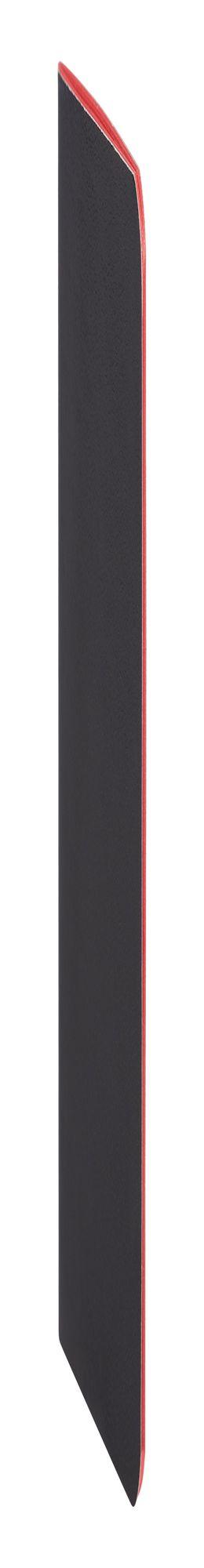Блокнот Excentrica, черный с красным фото