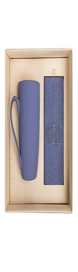 Набор подарочный PROVENCE-2: универсальное зарядное устройство(4000мАh) и кружка; сиреневый фото