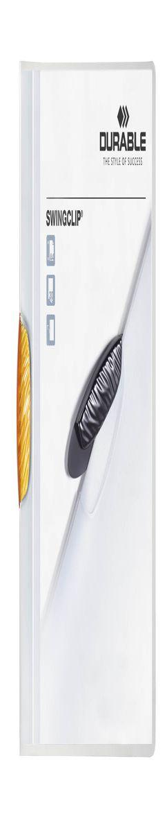 226009 Папка SWINGCLIP с оранжеывым клипом фото
