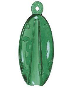 CLACK держатель для ручки, прозрачный зеленый, с системой break-off фото