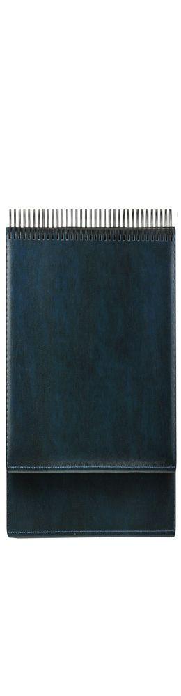 Планинг датированный Madrid 5495(794) 298х140 мм, синий, белый блок, сереб срез 2019 фото