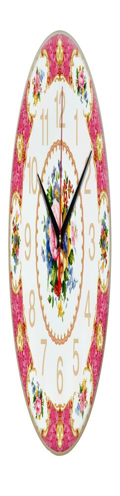 Часы настенные стеклянные Time Wheel фото