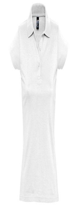 """Поло """"Prescott Women"""", белый, 100% х/б, 170г/м2 фото"""