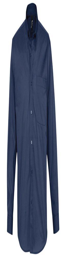 Рубашка мужская с длинным рукавом BEL AIR, темно-синяя (кобальт) фото