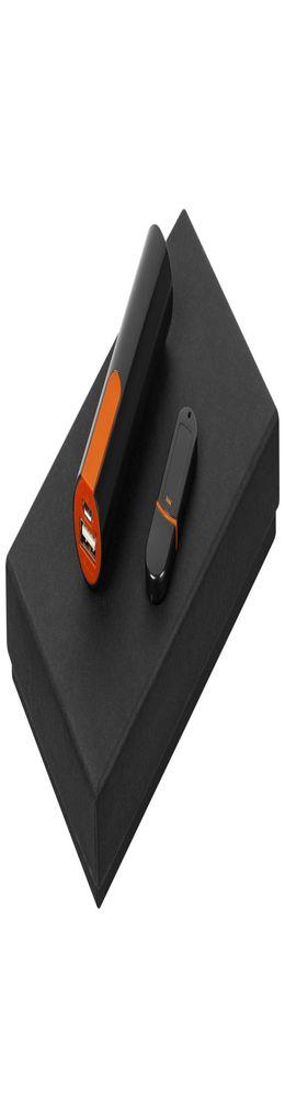 Набор Equip Black, черно-оранжевый фото
