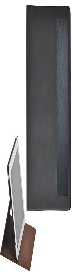 """Чехол-подставка под iPAD """"Смарт"""", черный фото"""