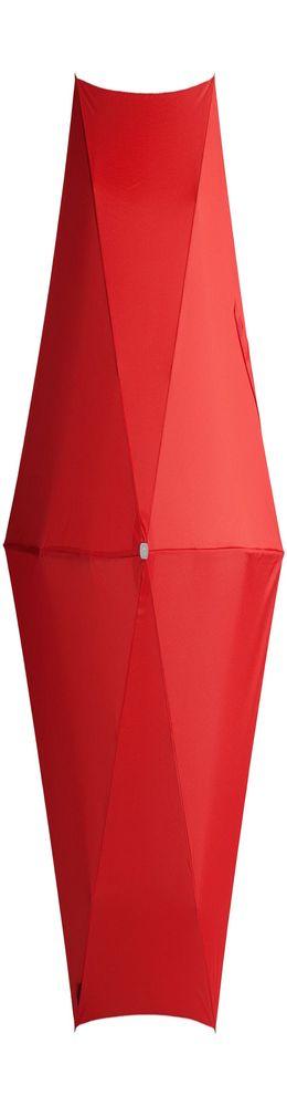 Складной зонт Alu Drop, 3 сложения, механический, красный фото