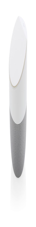 Колонка с беспроводным зарядным устройством Home, белая фото
