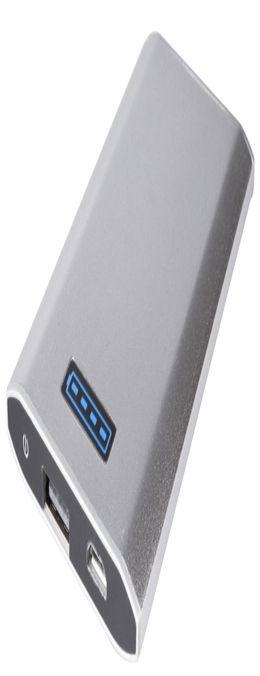 Внешний аккумулятор Uniscend Slim 5300 мАч, серебристый фото