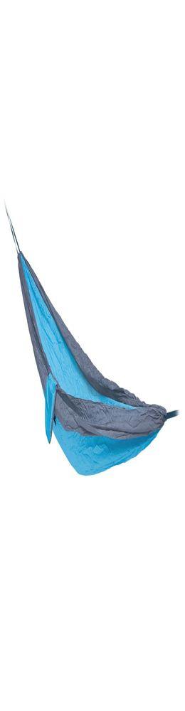 Туристический гамак Negga, бирюзовый с серым фото