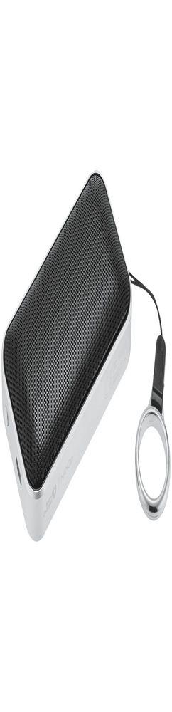 Беспроводная колонка Nano Lite, серебристая с черным фото