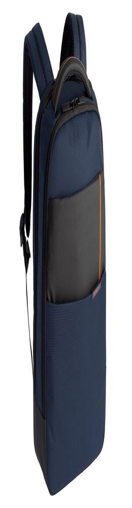 Рюкзак для ноутбука Qibyte Laptop Backpack, синий с черными вставками фото