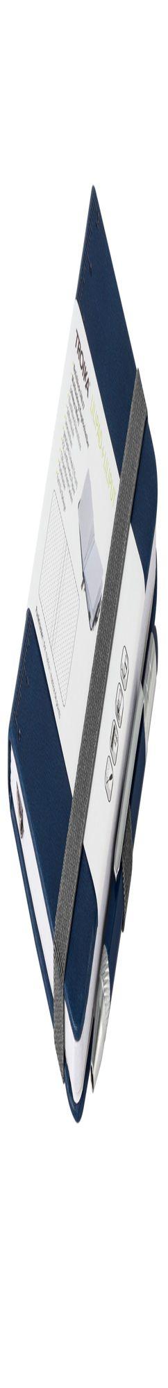 Блокнот Lilipad с ручкой Liliput, синий фото
