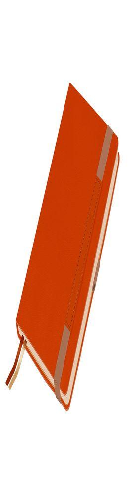 Ежедневник недатированный, Portobello Trend, Marseille soft touch, 145х210, 256 стр, оранжевый фото