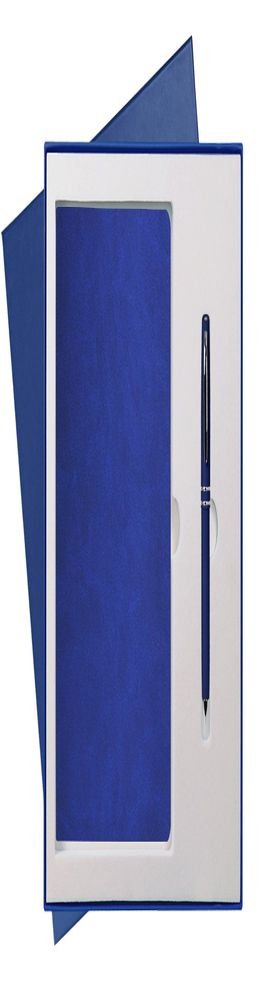 Подарочный набор Portobello/Latte синий (Ежедневник недат А5, Ручка) беж. ложемент фото