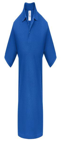 Рубашка поло Heavymill ярко-синяя фото