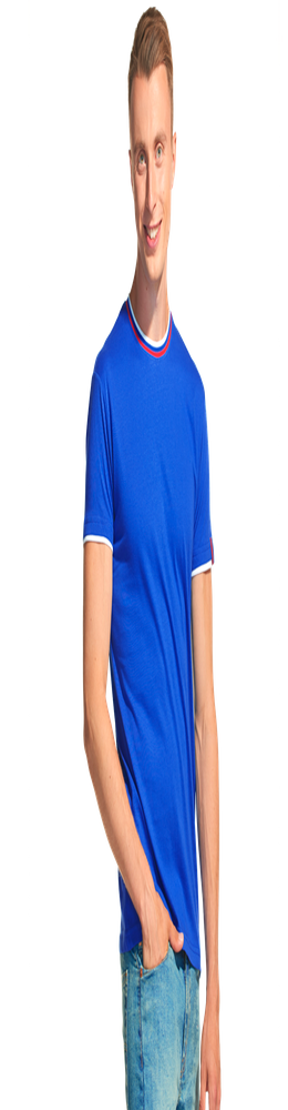 Мужская футболка EkaterinaCity 1402, синий фото