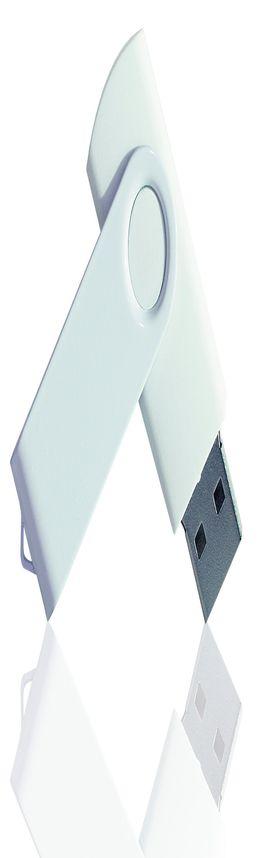 Флешка PVC003 (белый) с чипом 8 гб фото