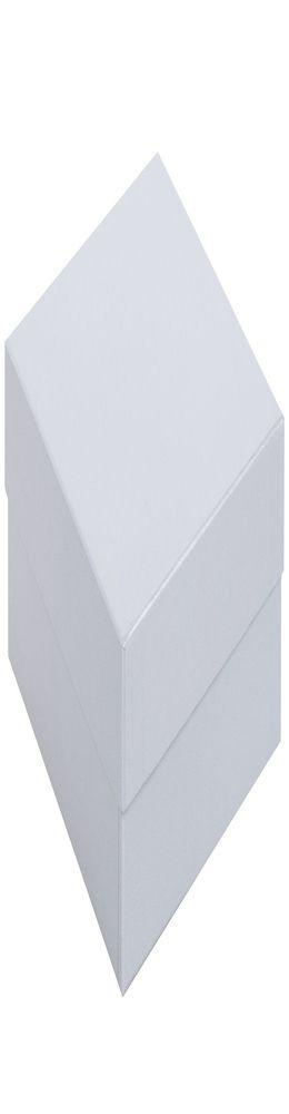 Коробка Satin, малая, серебристая фото