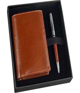 Набор William Lloyd : портмоне, ручка шариковая фото