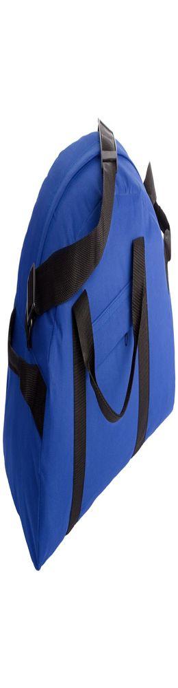 Спортивная сумка, синяя фото
