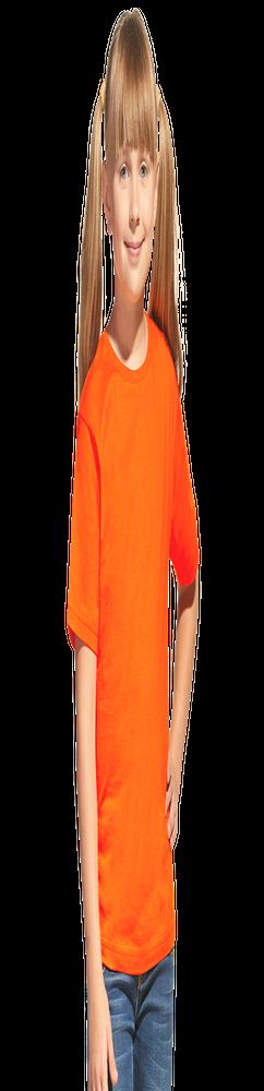 Детская футболка StanClass 06U, оранжевый фото